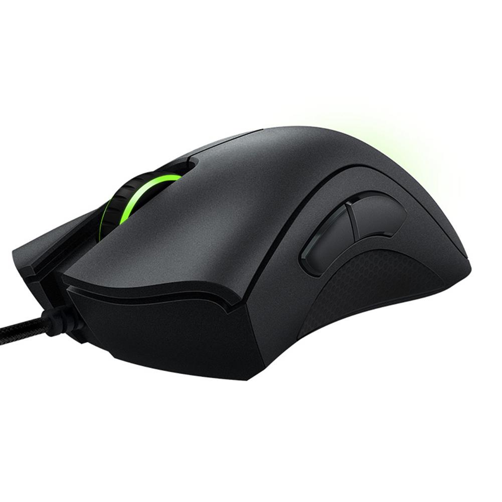 wired-mouse Razer DeathAdder Essential Optical Professional Grade Gaming Mouse Ergonomic Right-handed Design 6400 Adjustable DPI - Black Razer DeathAdder Essential Optical Professional Grade Gaming Mouse Ergonomic Right handed Design 6400 Adjustable DPI Black 4