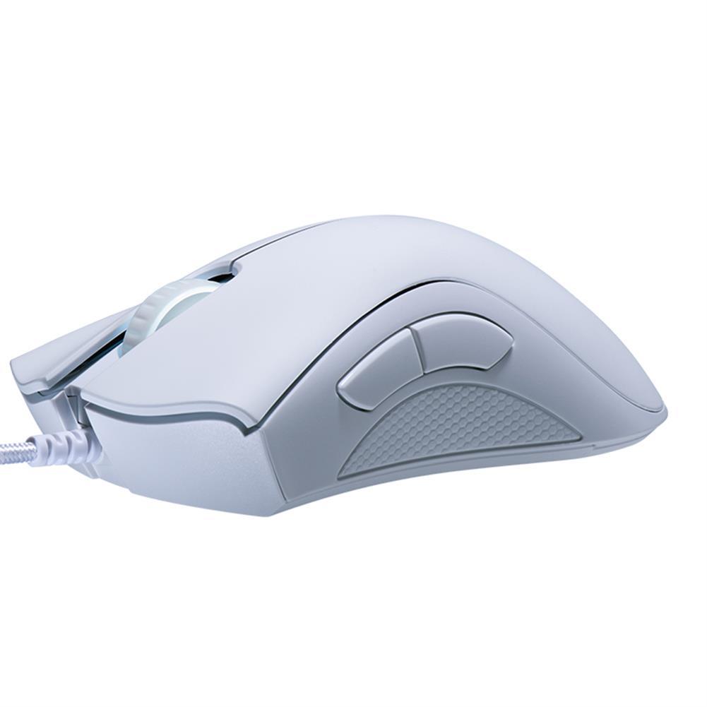 wired-mouse Razer DeathAdder Essential Optical Professional Grade Gaming Mouse Ergonomic Right-handed Design 6400 Adjustable DPI - White Razer DeathAdder Essential Optical Professional Grade Gaming Mouse Ergonomic Right handed Design 6400 Adjustable DPI White 3