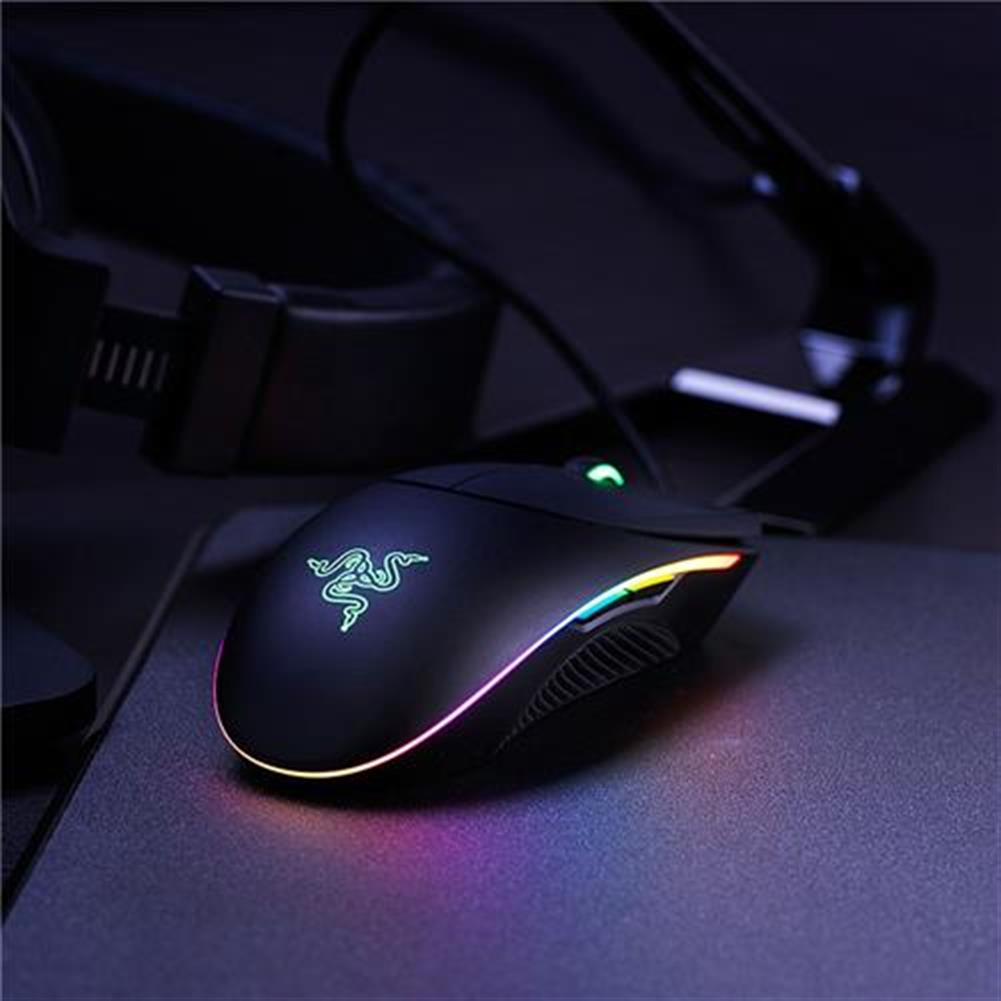 wired-mouse Razer Diamondback 2016 Wired Gaming Mouse RGB Backlight 16000 DPI Ambidextrous - Black Razer Diamondback 2016 Wired Gaming Mouse RGB Backlight 16000 DPI Ambidextrous Black 5