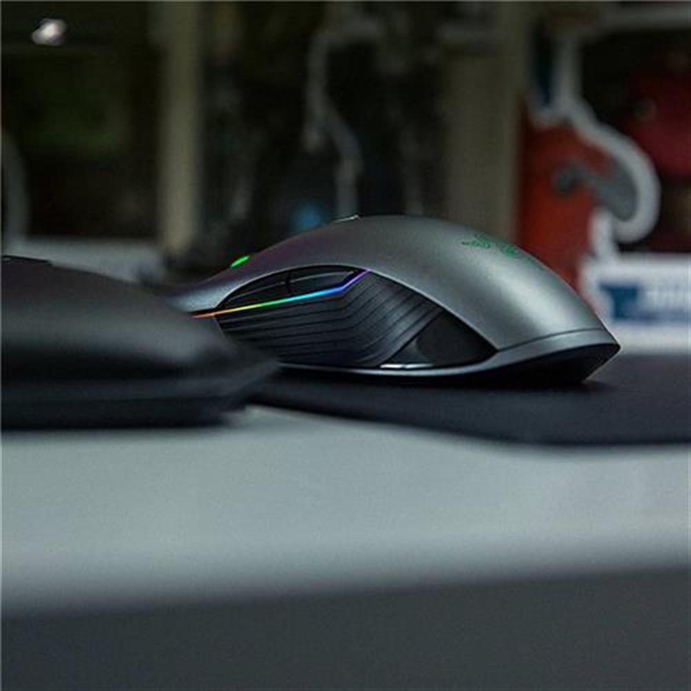 wireless-mouse Razer Lancehead Wired Wireless Gaming Mouse Professional RGB Blcklit 16000 Adjustable DPI Ambidextrous - Black Razer Lancehead Wired Wireless Gaming Mouse Professional RGB Blcklit 16000 Adjustable DPI Ambidextrous Black 3
