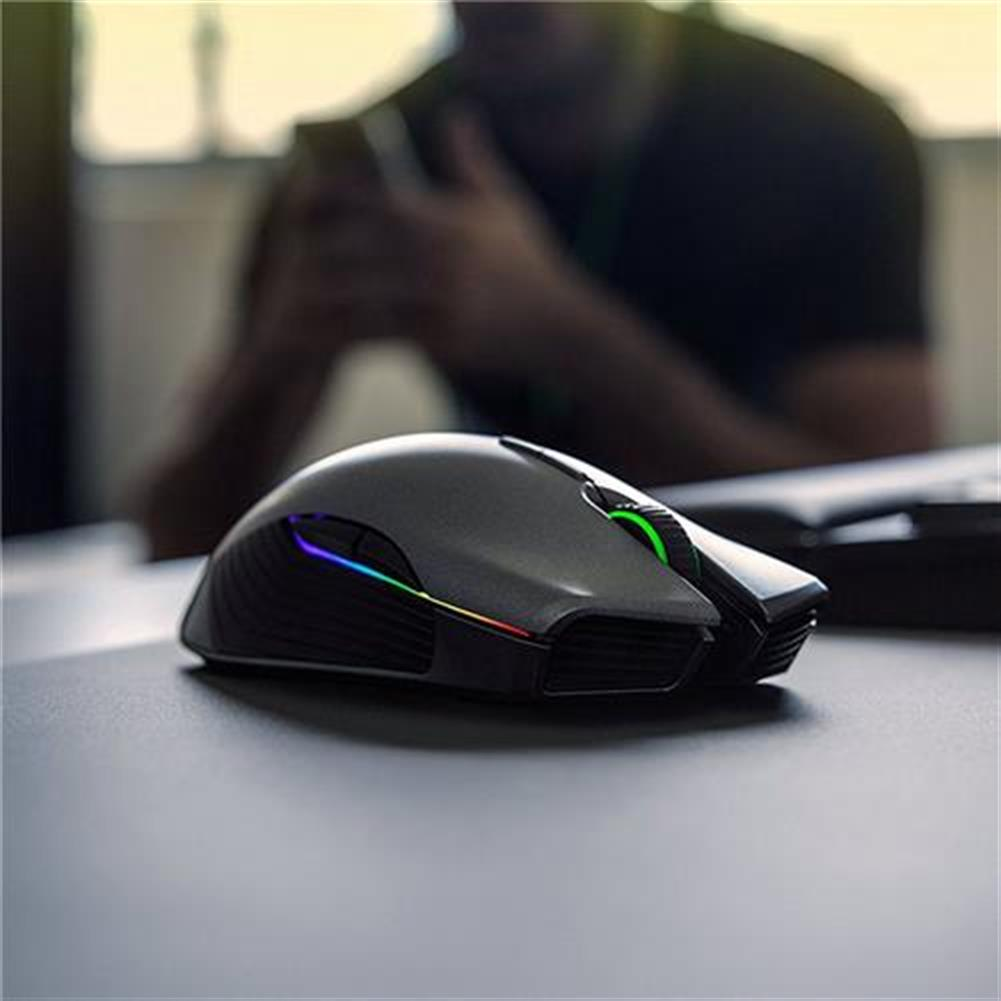 wireless-mouse Razer Lancehead Wired Wireless Gaming Mouse Professional RGB Blcklit 16000 Adjustable DPI Ambidextrous - Black Razer Lancehead Wired Wireless Gaming Mouse Professional RGB Blcklit 16000 Adjustable DPI Ambidextrous Black 5