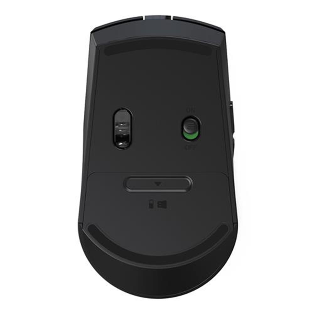 wireless-mouse-Rii M08 Wireless Mouse 2.4GHz 3200 DPI With Nano Receiver 6 Buttons - Black-Rii M08 Wireless Mouse 2 4GHz 3200 DPI With Nano Receiver 6 Buttons Black 3