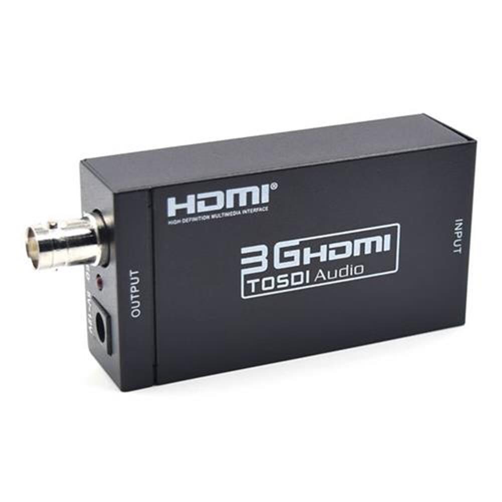 adapters-S009 3G HDMI to SDI Converter HD 1080P Mini Audio Box - US Plug-S009 3G HDMI to SDI Converter HD 1080P Mini Audio Box US Plug