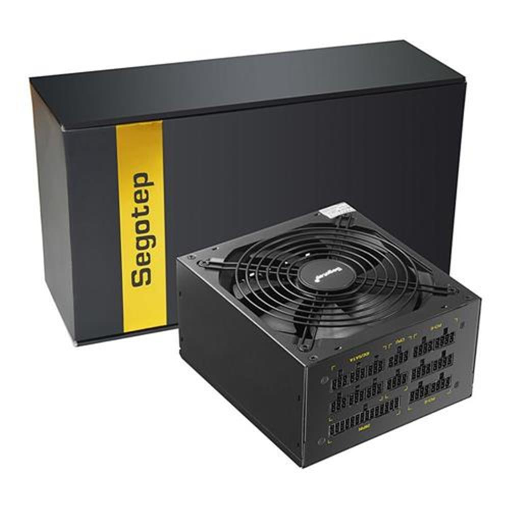pc-power-supplies-Segotep GP1350G 1250W Full Modular ATX PC Power Supply Gaming PSU - Black-Segotep GP1350G 1250W Full Modular ATX PC Power Supply Gaming PSU Black