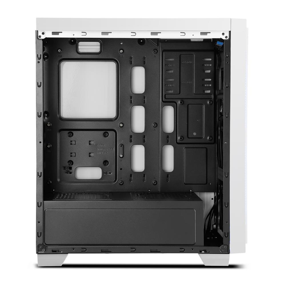 computer-cases Segotep HALO 6 PLUS Computer Case PC USB 3.0 Mainframe Support E-ATX / M-ATX / ITX With 7 Card Slots - White Segotep HALO 6 PLUS Computer Case PC USB 3 0 Mainframe Support E ATX M ATX ITX With 7 Card Slots White 5