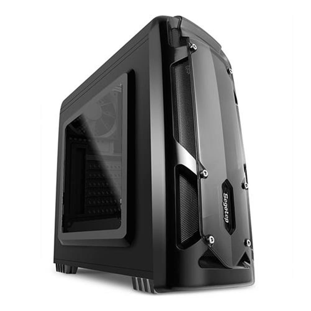 computer-cases Segotep RGB Full Tower USB 3.0 Computer Case PC Mainframe Support M-ATX ITX - Black Segotep RGB Full Tower USB 3 0 Computer Case PC Mainframe Support M ATX ITX Black 4