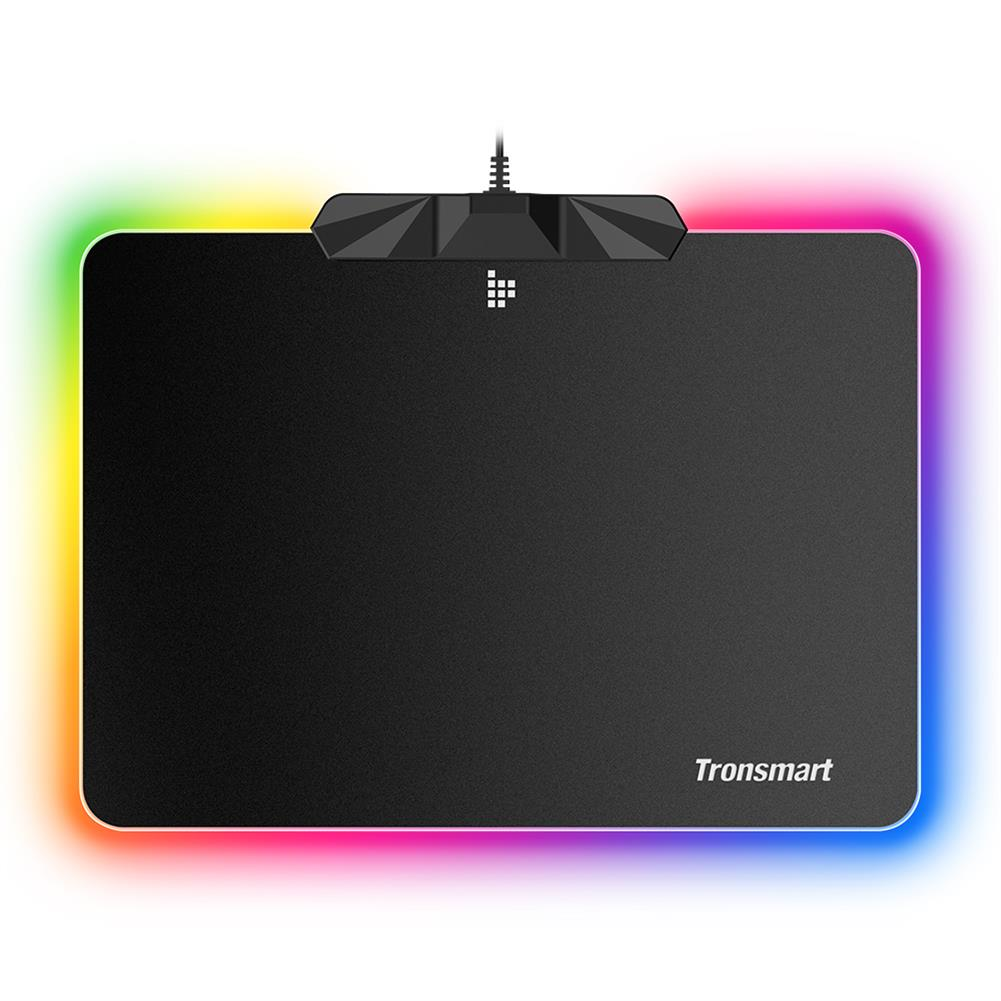 mouse-pads-Tronsmart Shine X RGB Gaming Mouse Pad USB Mat with 16.8 Million Colors Non-slip Base Optimized for Gaming Sensors-Tronsmart Shine X RGB Gaming Mouse Pad USB Mat with 16 8 Million Colors Non slip Base Optimized for Gaming Sensors