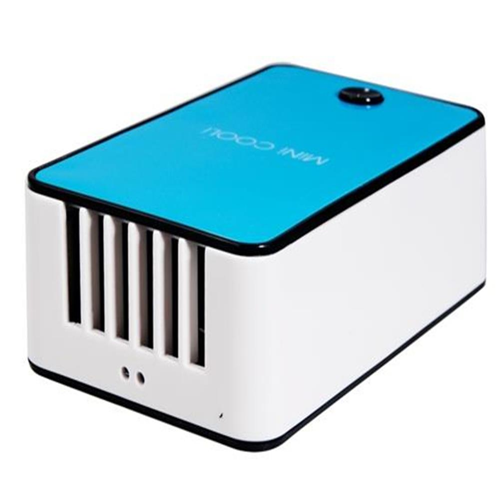 gadgets USB Charging Bladeless Fan Mini Handheld Rechargeable Air Conditioner Fan - Blue USB Charging Bladeless Fan Mini Handheld Rechargeable Air Conditioner Fan Blue 1