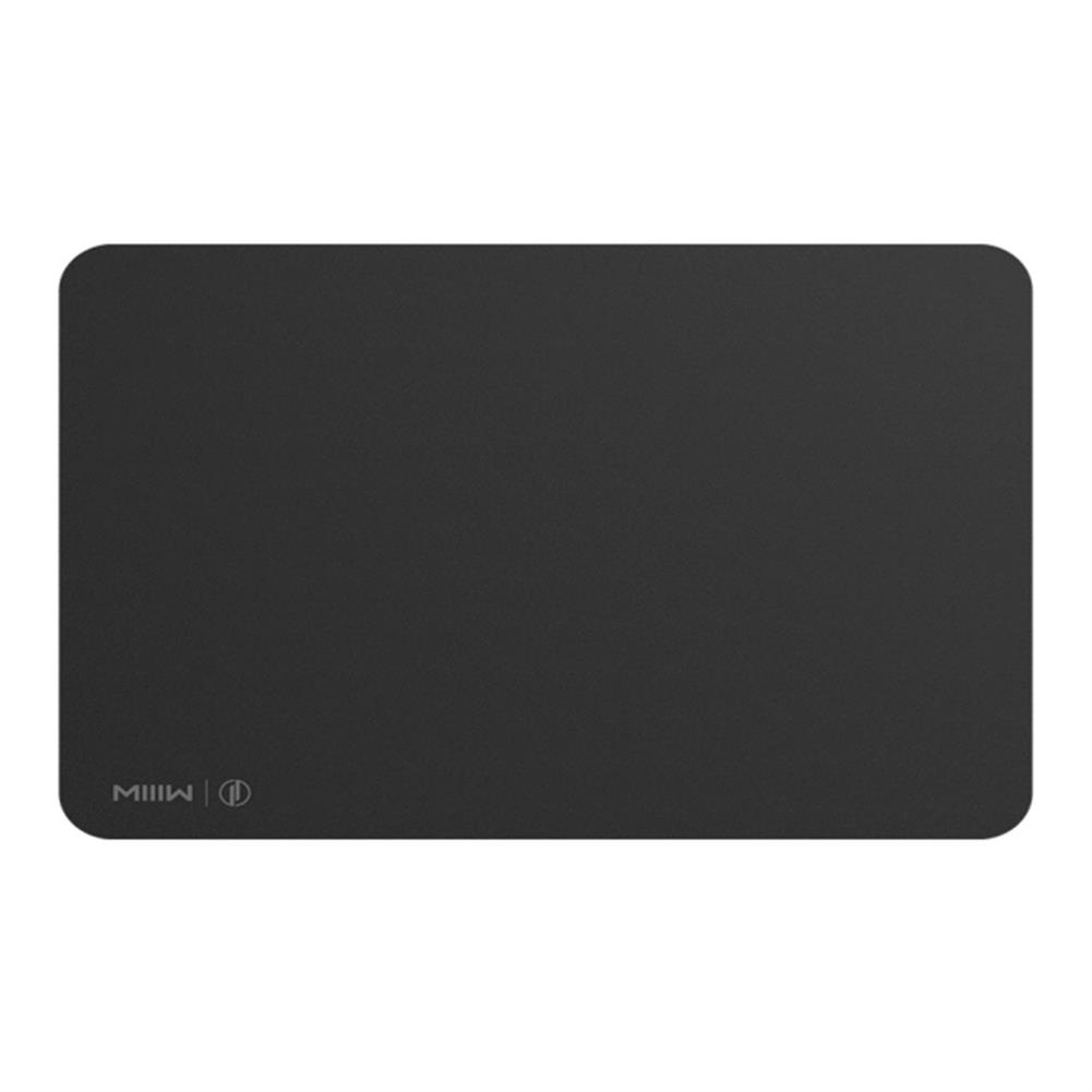 mouse-pads Xiaomi MIIIW E-sports Mouse Pad Competitive Level PC Surface Suction Cup Rubber Bottom Stable And Non-slip Semi-rigid Substrate 2.35MM Thickness - Black Xiaomi MIIIW E sports Mouse Pad Competitive Level PC Surface Suction Cup Rubber Bottom Stable And Non slip Semi rigid Substrate 2 35MM Thickness Black