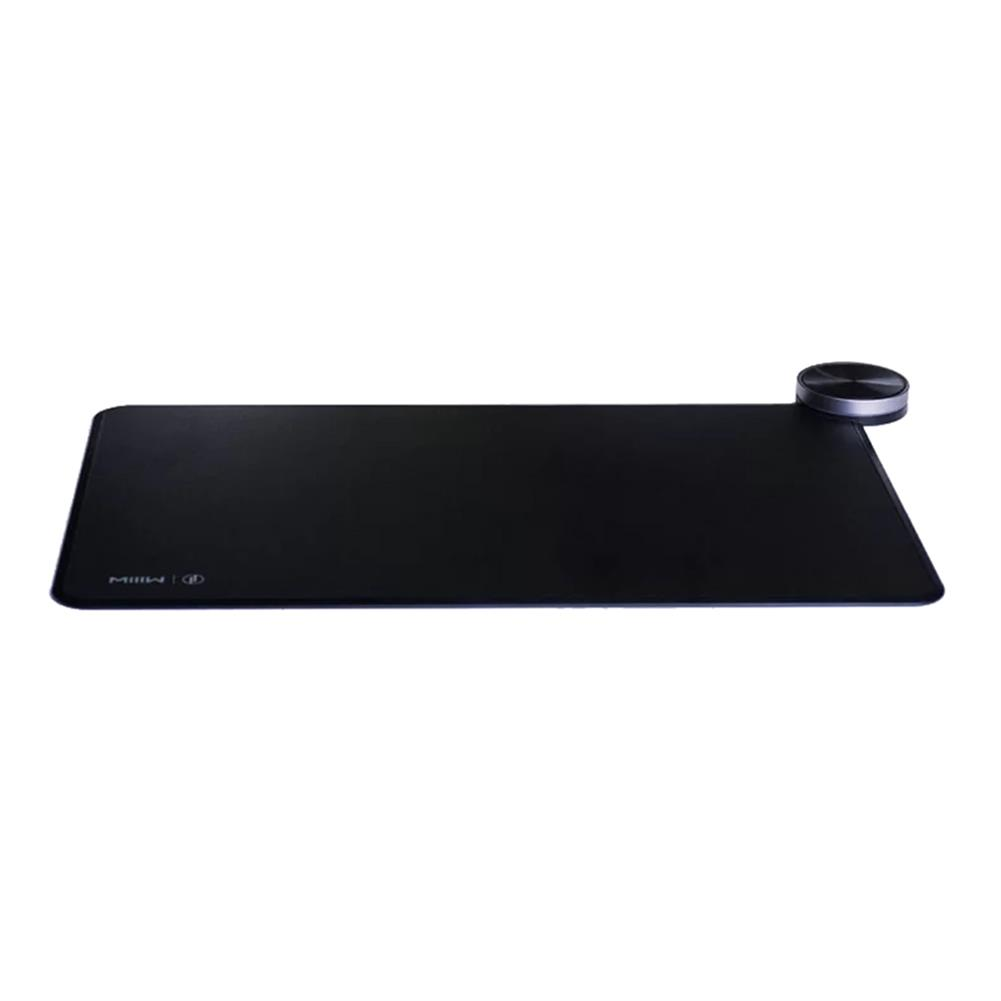 mouse-pads Xiaomi MIIIW Intelligent Mouse Pad Support Qi Wireless Charging Competitive Game Level PC Surface About 16.8 Million Color Lights - Black Xiaomi MIIIW Intelligent Mouse Pad Support Qi Wireless Charging Competitive Game Level PC Surface About 16 8 Million Color Lights Black
