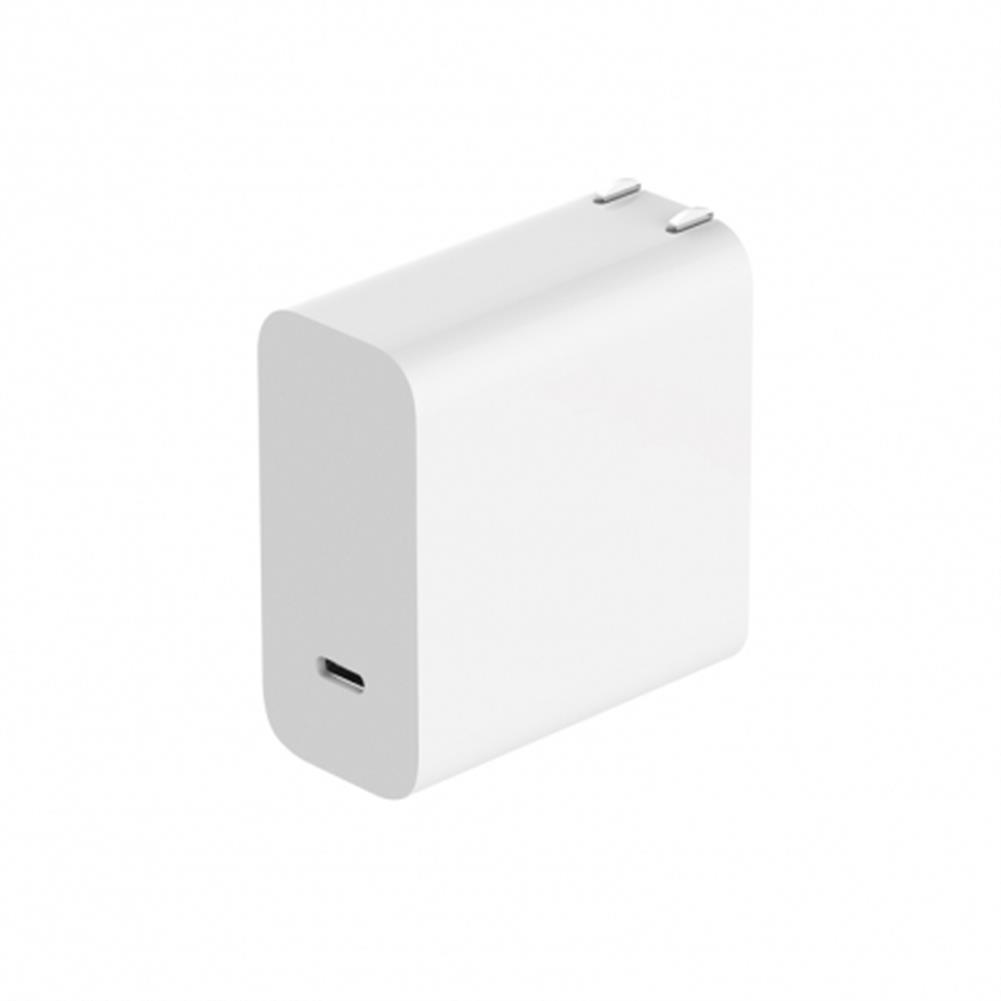 adapters-Xiaomi USB Power Adapter PD 2.0 Type-C Output Port 45W QC 3.0 With Data Cable Chinese Plug - White-Xiaomi USB Power Adapter PD 2 0 Type C Output Port 45W QC 3 0 With Data Cable Chinese Plug White