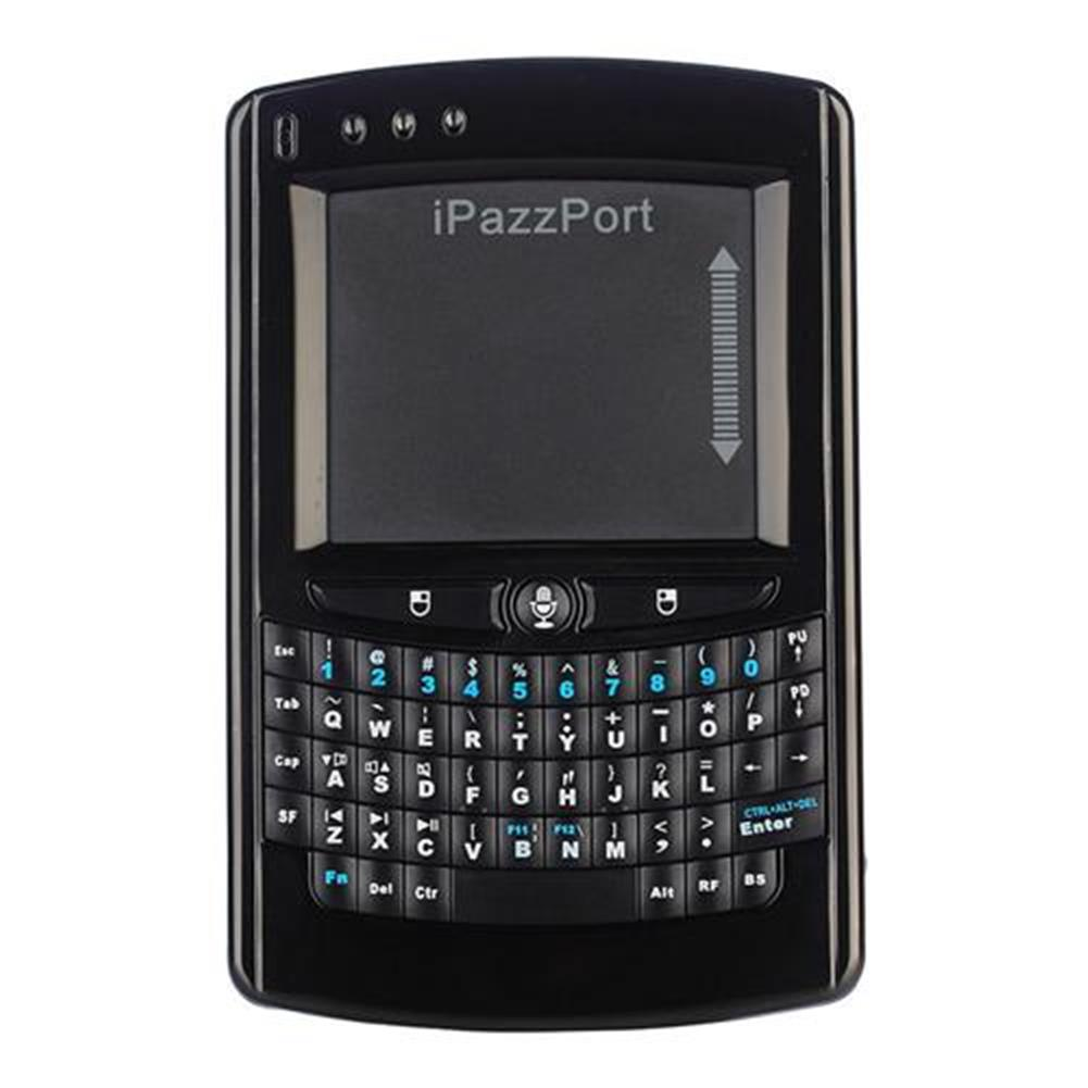 wired-keyboards-iPazzPort KP05V Wireless Hand-held Keyboard Multi-media 57 keys LED Backlight QWERTY Keyboard - Balck-iPazzPort KP05V Wireless Hand held Keyboard Multi media 57 keys LED Backlight QWERTY Keyboard Balck