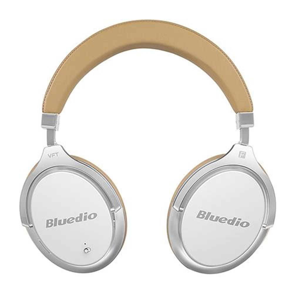 on-ear-over-ear-headphones Bluedio F2 Wireless Bluetooth Headphones with Mic Active Noise Cancelling - White Bluedio F2 Wireless Bluetooth Headphones with Mic Active Noise Cancelling White
