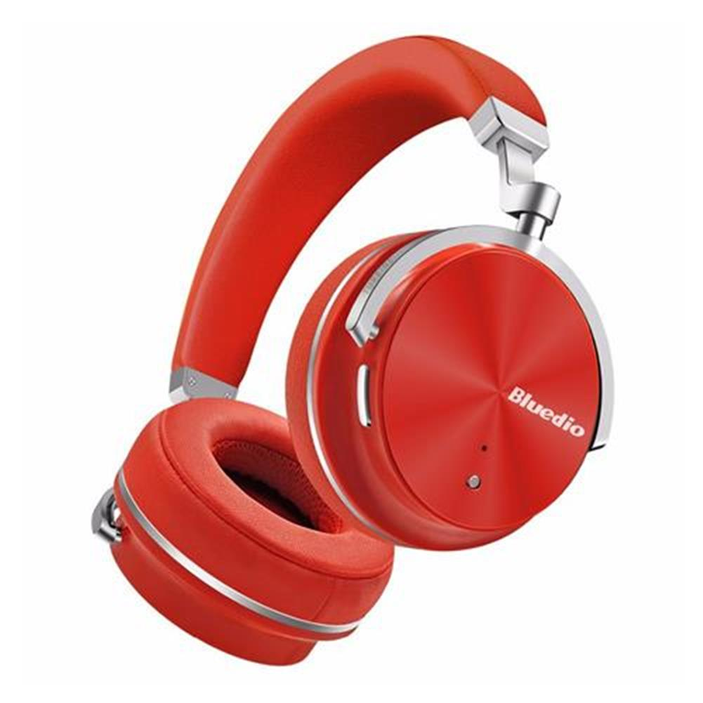 on-ear-over-ear-headphones Bluedio T4S Wireless Bluetooth Headphones with Mic Active Noise Cancelling - Red Bluedio T4S Wireless Bluetooth Headphones with Mic Active Noise Cancelling Red 1