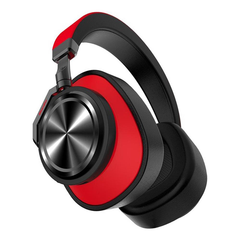 on-ear-over-ear-headphones Bluedio T6 Headphones Wireless Bluetooth Headset with Mic Active Noise Cancelling - Black and Red Bluedio T6 Headphones Wireless Bluetooth Headset with Mic Active Noise Cancelling Black and Red