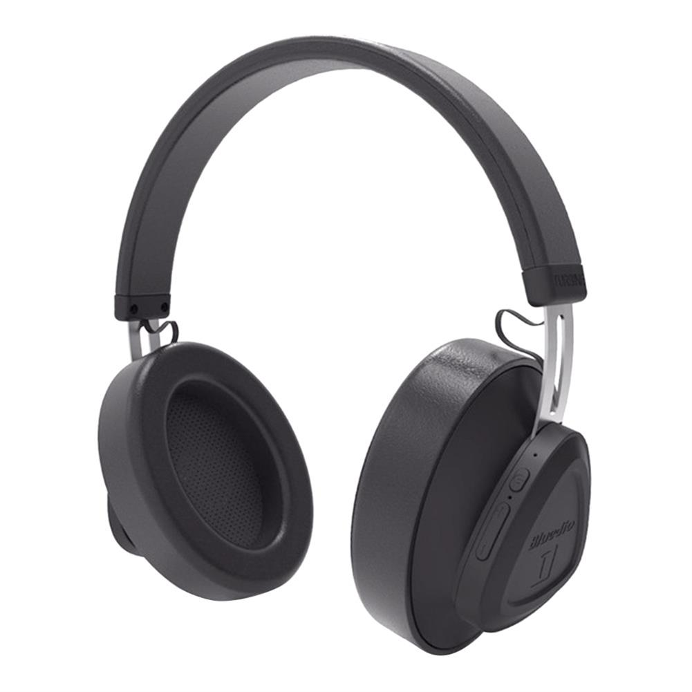 on-ear-over-ear-headphones-Bluedio TM Wireless Bluetooth Headphones Noise Reduction Stereo Headset - Black-Bluedio TM Wireless Bluetooth Headphones Noise Reduction Stereo Headset Black