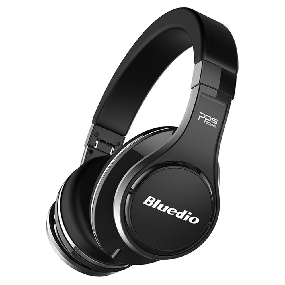on-ear-over-ear-headphones-Bluedio UFO Bluetooth Headphones with Mic 3D Bass 8 Drivers HiFi - Black-Bluedio UFO Bluetooth Headphones with Mic 3D Bass 8 Drivers HiFi Black