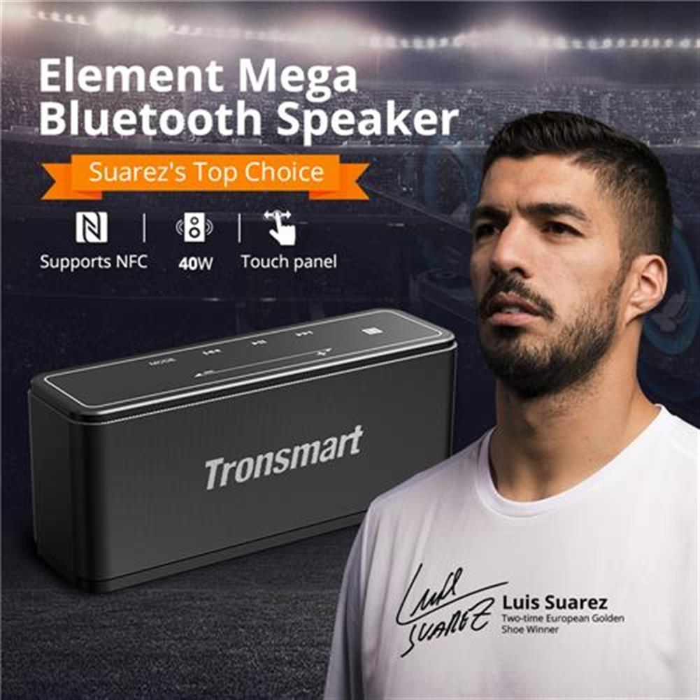 bluetooth-speakers Bundle Tronsmart Element Mega 40W Bluetooth Speaker with 3D Digital Sound TWS + Tronsmart Element Mega Carrying Case Bundle Tronsmart Element Mega 40W Bluetooth Speaker with 3D Digital Sound TWS Tronsmart Element Mega Carrying Case 1