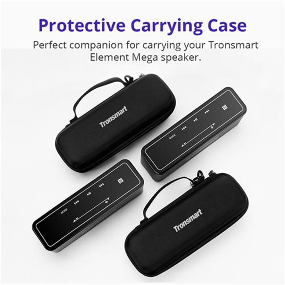 bluetooth-speakers Carrying Case for Tronsmart Element Mega Bluetooth Speaker - Black Carrying Case for Tronsmart Element Mega Bluetooth Speaker Black 1