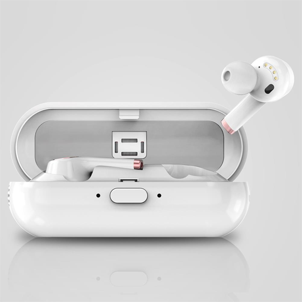 earbud-headphones DOBTECH DOBT1 TWS Translate Headphones 9 Hours Working Time 29 Languages Dual Bluetooth 5.0 - White DOBTECH DOBT1 TWS Translate Headphones 9 Hours Working Time 29 Languages Dual Bluetooth 5 0 White 1