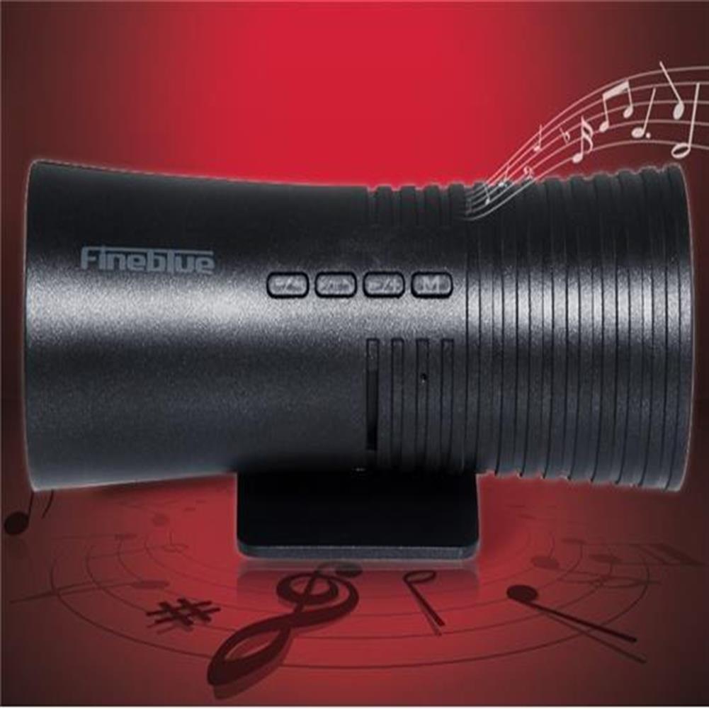 bluetooth-speakers Fineblue 608 Bluetooth V2.1 + EDR Stereo Speaker Hands-free - Black Fineblue 608 Bluetooth V2 1 EDR Stereo Speaker Hands free Black 1
