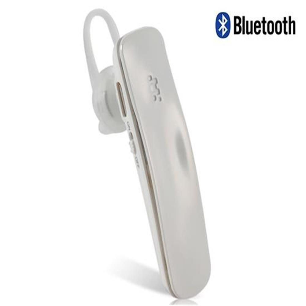 earbud-headphones Fineblue HF88 2-in-1 Mini Stereo Bluetooth Headset - White Fineblue HF88 2 in 1 Mini Stereo Bluetooth Headset White 1
