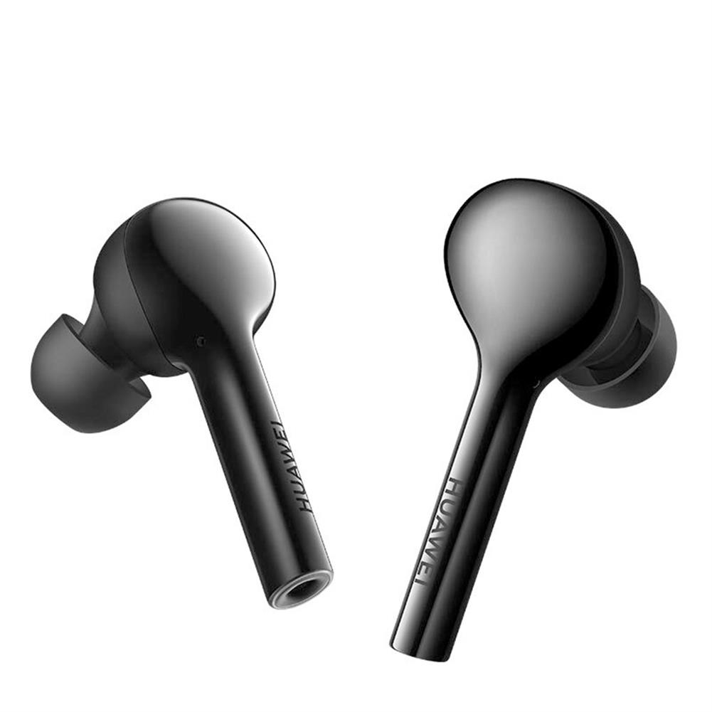 earbud-headphones HUAWEI FreeBuds TWS Bluetooth Earbuds 10 Hours Playtime with Mic Auto Connect Tap Control - Black HUAWEI FreeBuds TWS Bluetooth Earbuds 10 Hours Playtime with Mic Auto Connect Tap Control Black