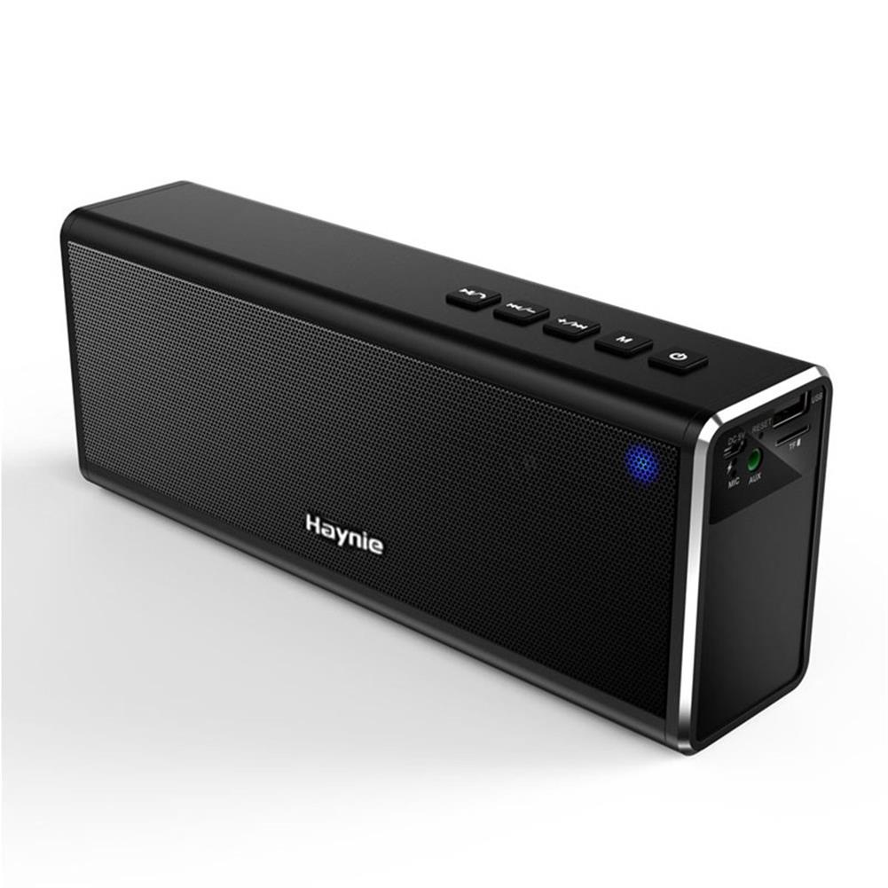 bluetooth-speakers Haynie PN-19 Bluetooth Speaker Super Bass 20W 4000mAh Battery Portable Metal HIFI - Black Haynie PN 19 Bluetooth Speaker Super Bass 20W 4000mAh Battery Portable Metal HIFI Black