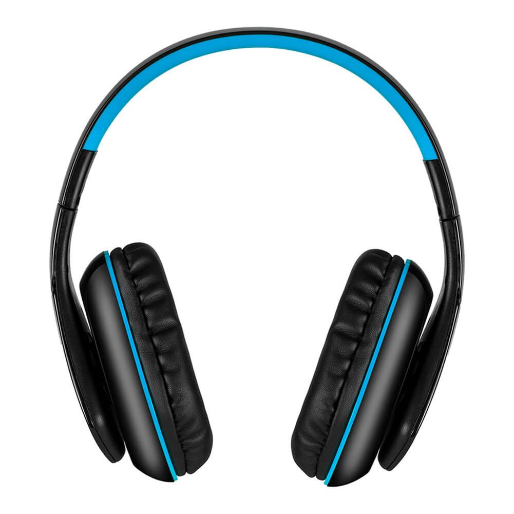 on-ear-over-ear-headphones KOTION EACH B3506 Foldable Bluetooth 4.1 Gaming Headsets - Black+Blue KOTION EACH B3506 Foldable Bluetooth 4 1 Gaming Headsets Black Blue 3