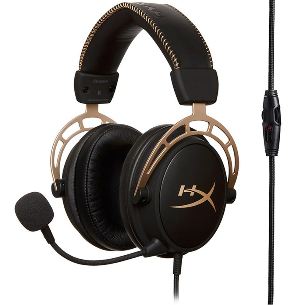 on-ear-over-ear-headphones Kingston HyperX Cloud Alpha Gaming Headset Dual Chamber Drivers Works with PC/PS4/PS4 PRO/Xbox One/Xbox One S -Gold Kingston HyperX Cloud Alpha Gaming Headset Dual Chamber Drivers Works with PC PS4 PS4 PRO Xbox One Xbox One S Gold 2