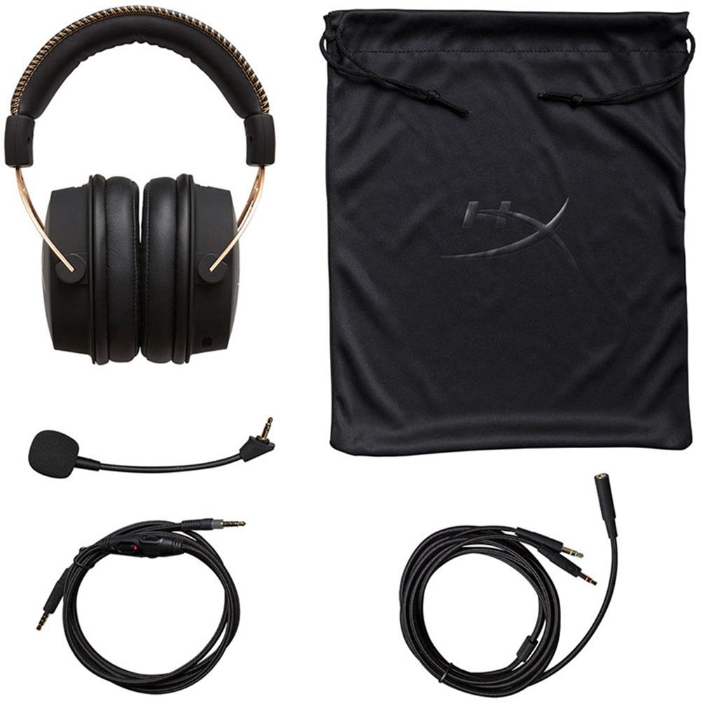 on-ear-over-ear-headphones Kingston HyperX Cloud Alpha Gaming Headset Dual Chamber Drivers Works with PC/PS4/PS4 PRO/Xbox One/Xbox One S -Gold Kingston HyperX Cloud Alpha Gaming Headset Dual Chamber Drivers Works with PC PS4 PS4 PRO Xbox One Xbox One S Gold 3