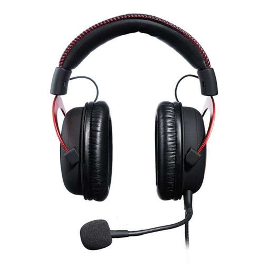 on-ear-over-ear-headphones Kingston HyperX Cloud II Gaming Headset with Mic for PC/PS4/Xbox One/Nintendo Switch - Red Kingston HyperX Cloud II Gaming Headset with Mic for PC PS4 Xbox One Nintendo Switch Red 1