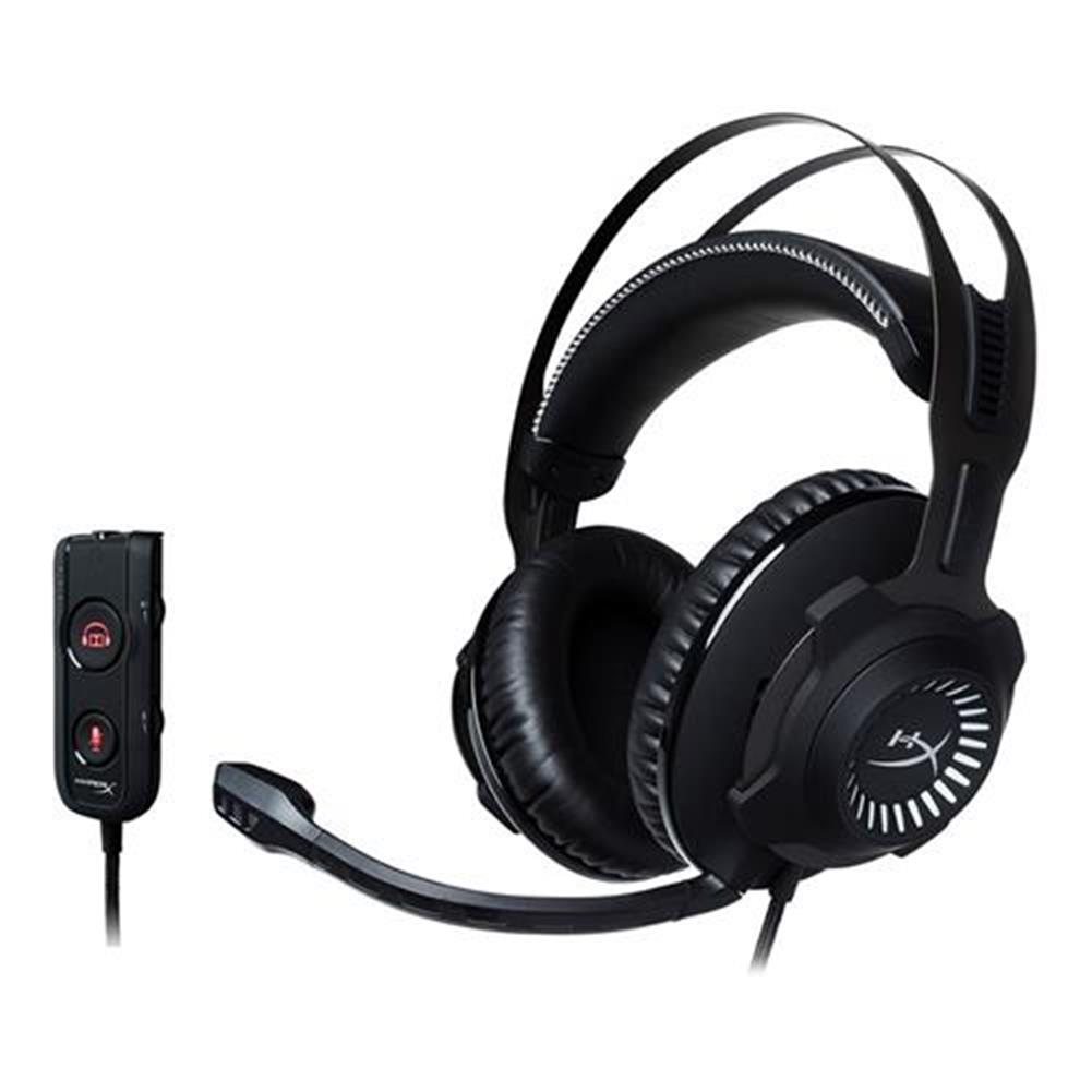 on-ear-over-ear-headphones-Kingston HyperX Cloud Revolver S Gaming Headset with Dolby 7.1 Surround Sound for PC/PS4/Xbox One - Black-Kingston HyperX Cloud Revolver S Gaming Headset with Dolby 7 1 Surround Sound for PC PS4 Xbox One Black