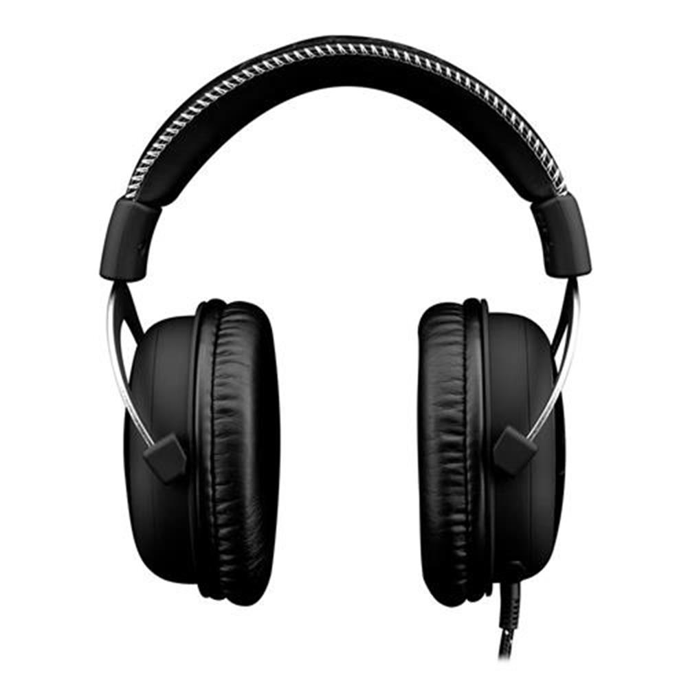 on-ear-over-ear-headphones Kingston HyperX Cloud Silver Gaming Headset with Mic 53 Driver 3.5mm Jack - Black + Gray Kingston HyperX Cloud Silver Gaming Headset with Mic 53 Driver 3 5mm Jack Black Gray 1