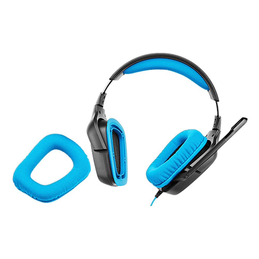 on-ear-over-ear-headphones Logitech G430 Surround Sound Wired Gaming Headphone Folding Noise Canceling Headset - Blue Logitech G430 Surround Sound Wired Gaming Headphone Folding Noise Canceling Headset Blue 4