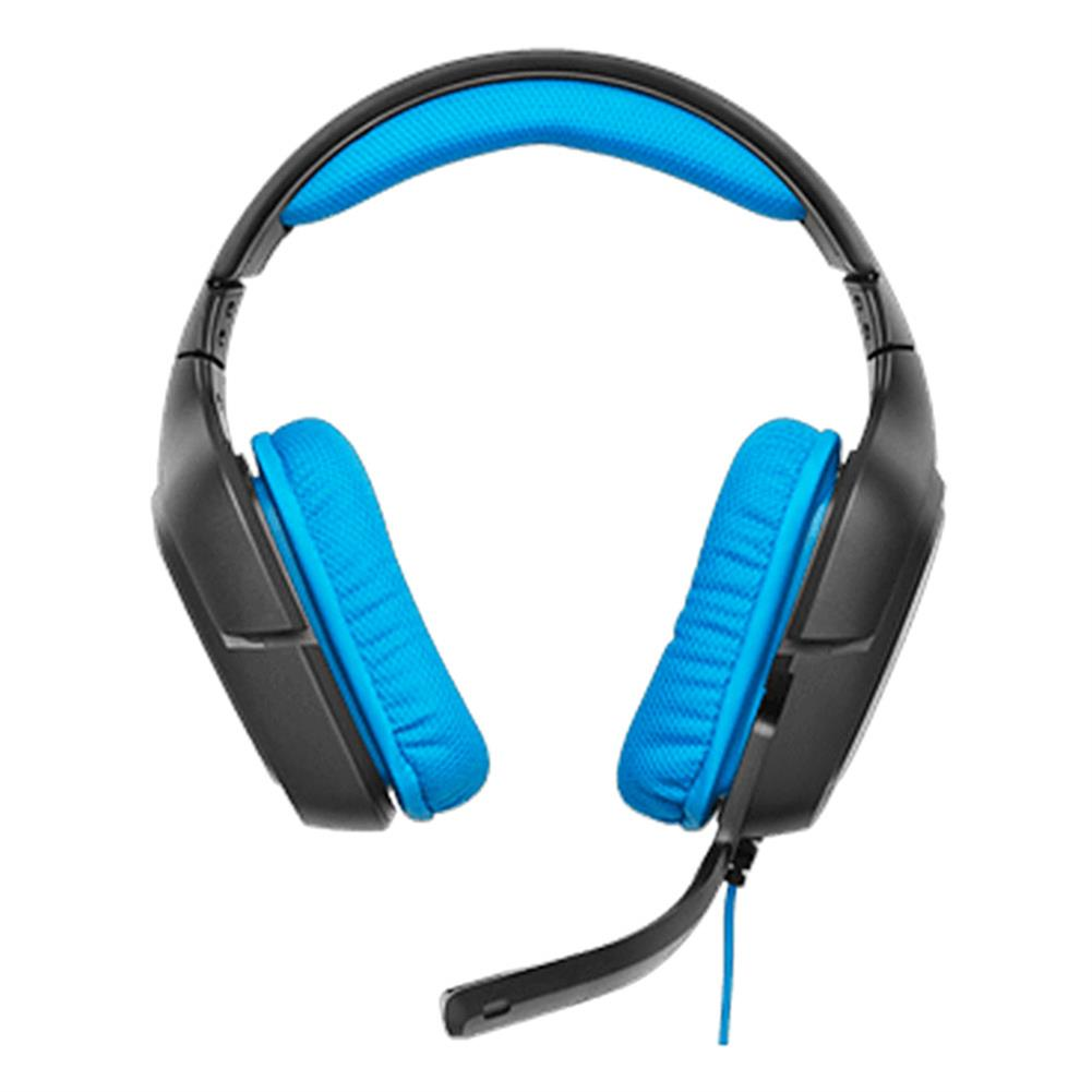 on-ear-over-ear-headphones Logitech G430 Surround Sound Wired Gaming Headphone Folding Noise Canceling Headset - Blue Logitech G430 Surround Sound Wired Gaming Headphone Folding Noise Canceling Headset Blue 6