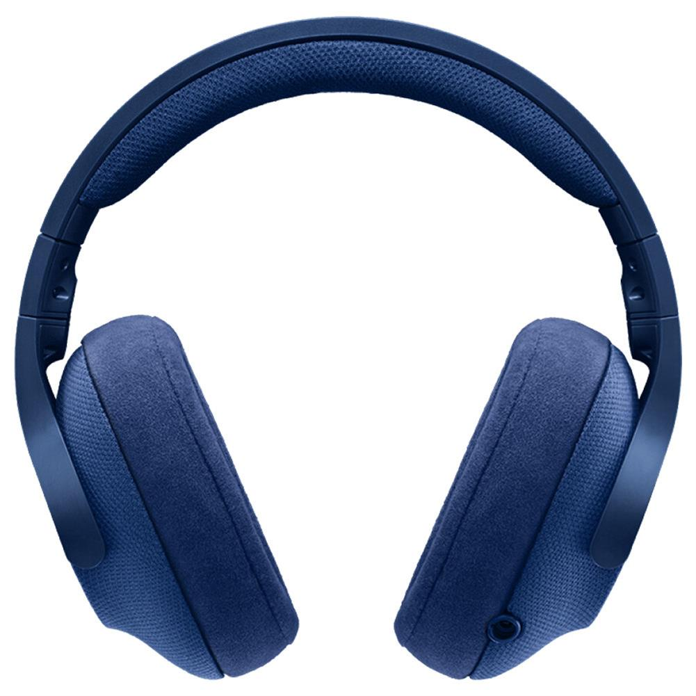 on-ear-over-ear-headphones Logitech G433 Gaming Headset Wired 7.1 Surround Sound Channel - Blue Logitech G433 Gaming Headset Wired 7 1 Surround Sound Channel Blue 2