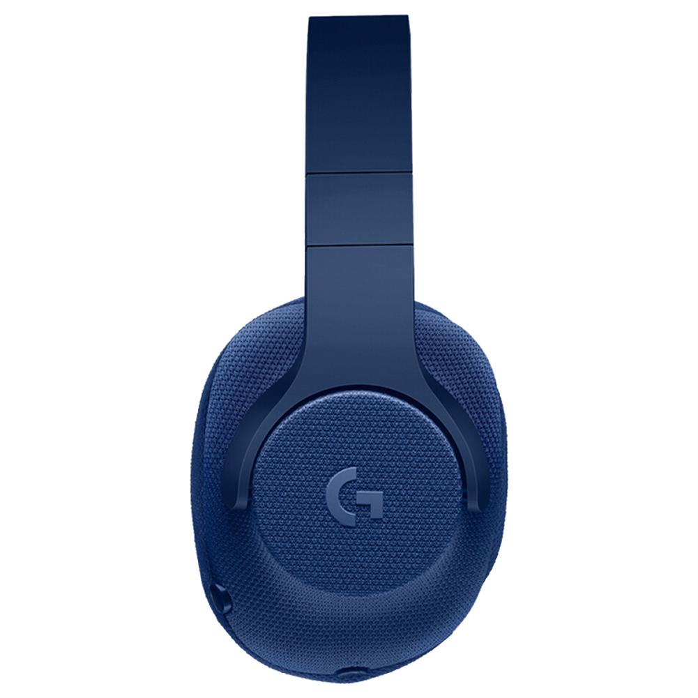 on-ear-over-ear-headphones Logitech G433 Gaming Headset Wired 7.1 Surround Sound Channel - Blue Logitech G433 Gaming Headset Wired 7 1 Surround Sound Channel Blue 3