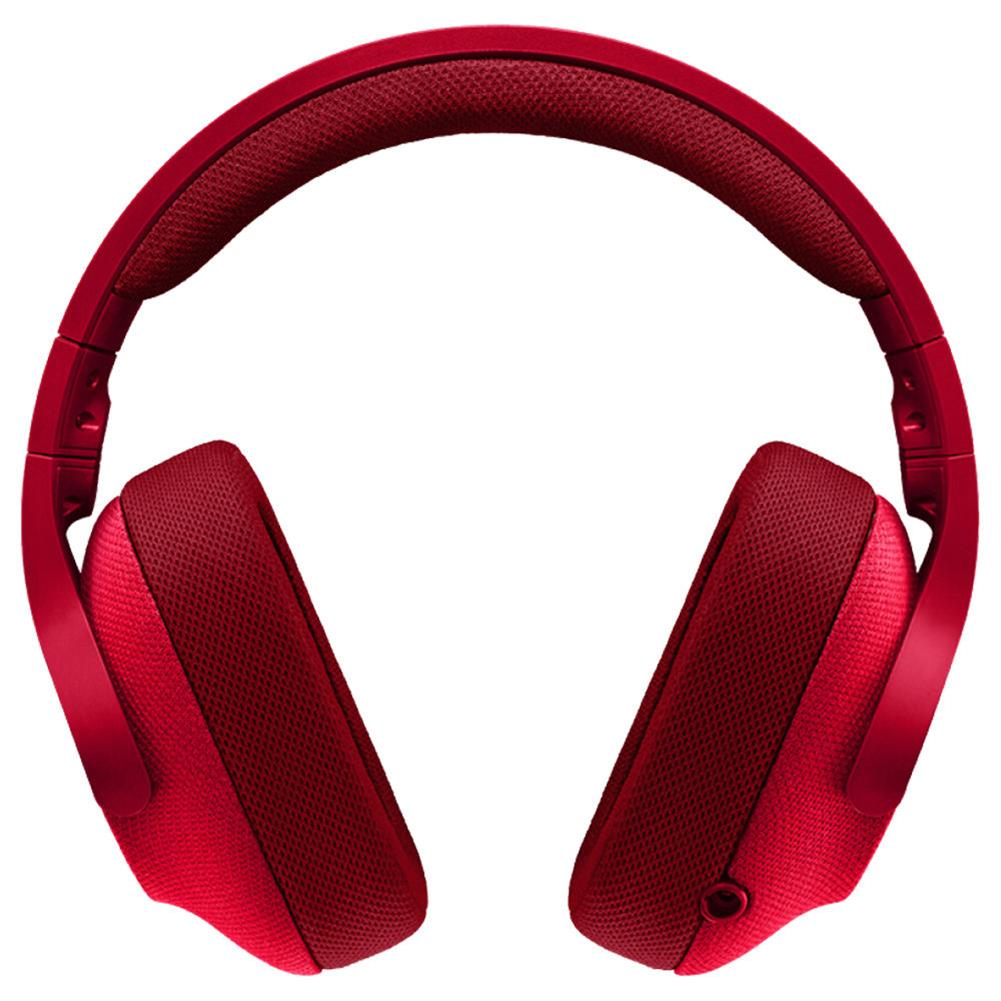 on-ear-over-ear-headphones Logitech G433 Gaming Headset Wired 7.1 Surround Sound Channel - Red Logitech G433 Gaming Headset Wired 7 1 Surround Sound Channel Red 2