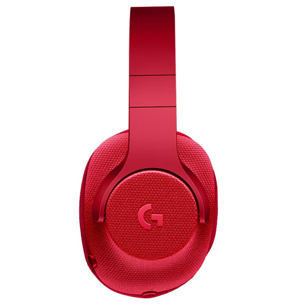 on-ear-over-ear-headphones Logitech G433 Gaming Headset Wired 7.1 Surround Sound Channel - Red Logitech G433 Gaming Headset Wired 7 1 Surround Sound Channel Red 3