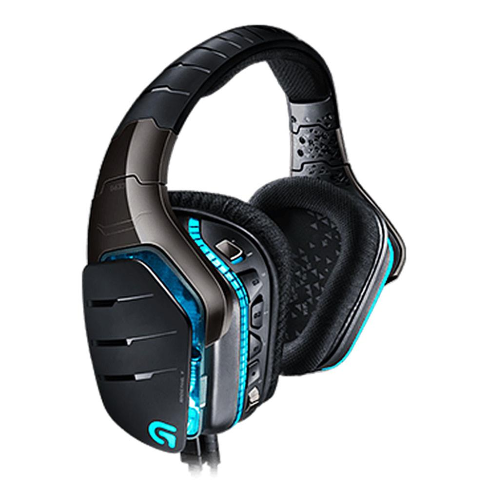 on-ear-over-ear-headphones Logitech G633 Artemis Spectrum RGB 7.1 Surround Gaming Headphones Collapsible Noise Reduction Headset - Black Logitech G633 Artemis Spectrum RGB 7 1 Surround Gaming Headphones Collapsible Noise Reduction Headset Black