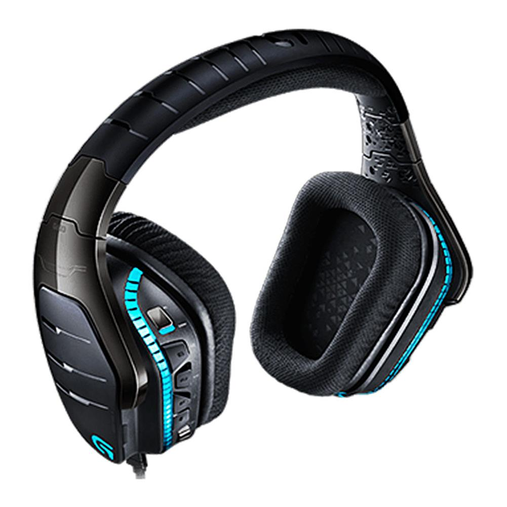 on-ear-over-ear-headphones Logitech G633 Artemis Spectrum RGB 7.1 Surround Gaming Headphones Collapsible Noise Reduction Headset - Black Logitech G633 Artemis Spectrum RGB 7 1 Surround Gaming Headphones Collapsible Noise Reduction Headset Black 2