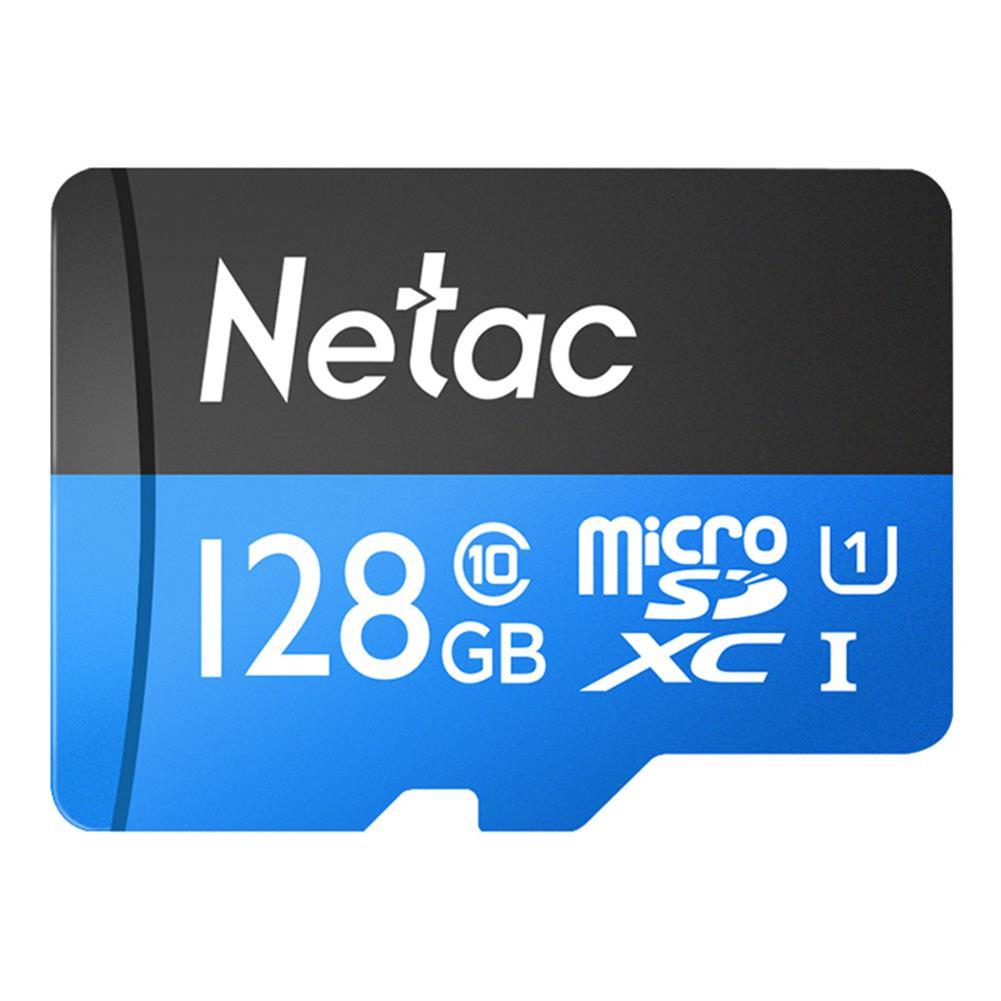 microsd-tf-card-Netac P500 128GB Micro SD Card Data Storage TF Cards - Blue-Netac P500 128GB Micro SD Card Data Storage TF Cards Blue