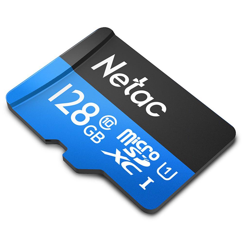 microsd-tf-card Netac P500 128GB Micro SD Card Data Storage TF Cards - Blue Netac P500 128GB Micro SD Card Data Storage TF Cards Blue 1