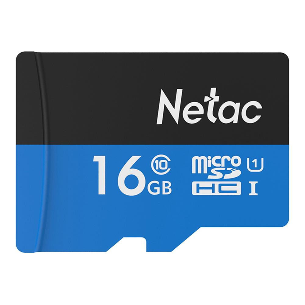 microsd-tf-card-Netac P500 16GB Micro SD Memory Card Data Storage TF Cards - Blue-Netac P500 16GB Micro SD Memory Card Data Storage TF Cards Blue