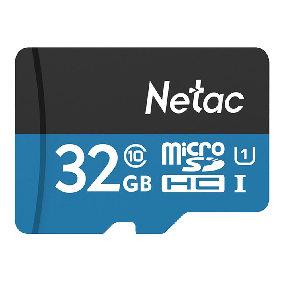 microsd-tf-card Netac P500 32GB Micro SD Memory Card Data Storage TF Cards - Blue Netac P500 32GB Micro SD Memory Card Data Storage TF Cards Blue