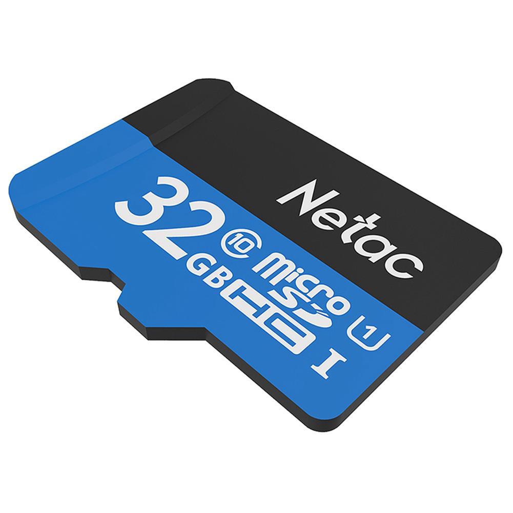 microsd-tf-card Netac P500 32GB Micro SD Memory Card Data Storage TF Cards - Blue Netac P500 32GB Micro SD Memory Card Data Storage TF Cards Blue 1
