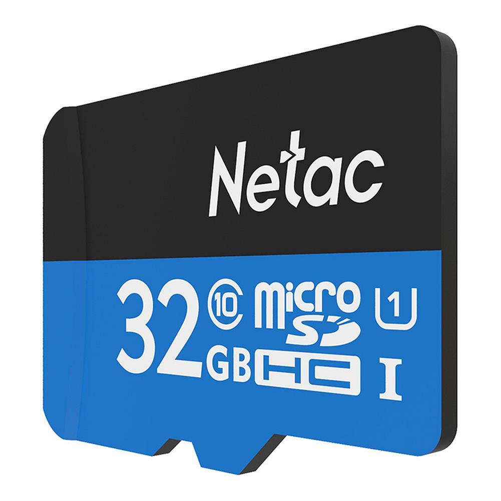 microsd-tf-card Netac P500 32GB Micro SD Memory Card Data Storage TF Cards - Blue Netac P500 32GB Micro SD Memory Card Data Storage TF Cards Blue 2