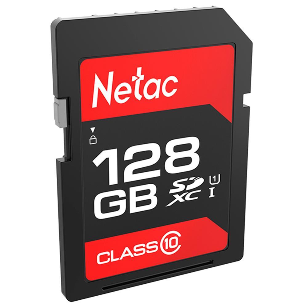 sd-card Netac P600 128GB SD Card UHS-I Class 10 SDHC Read Speed 80MB/s - Black Netac P600 128GB SD Card UHS I Class 10 SDHC Read Speed 80MB s Black 1