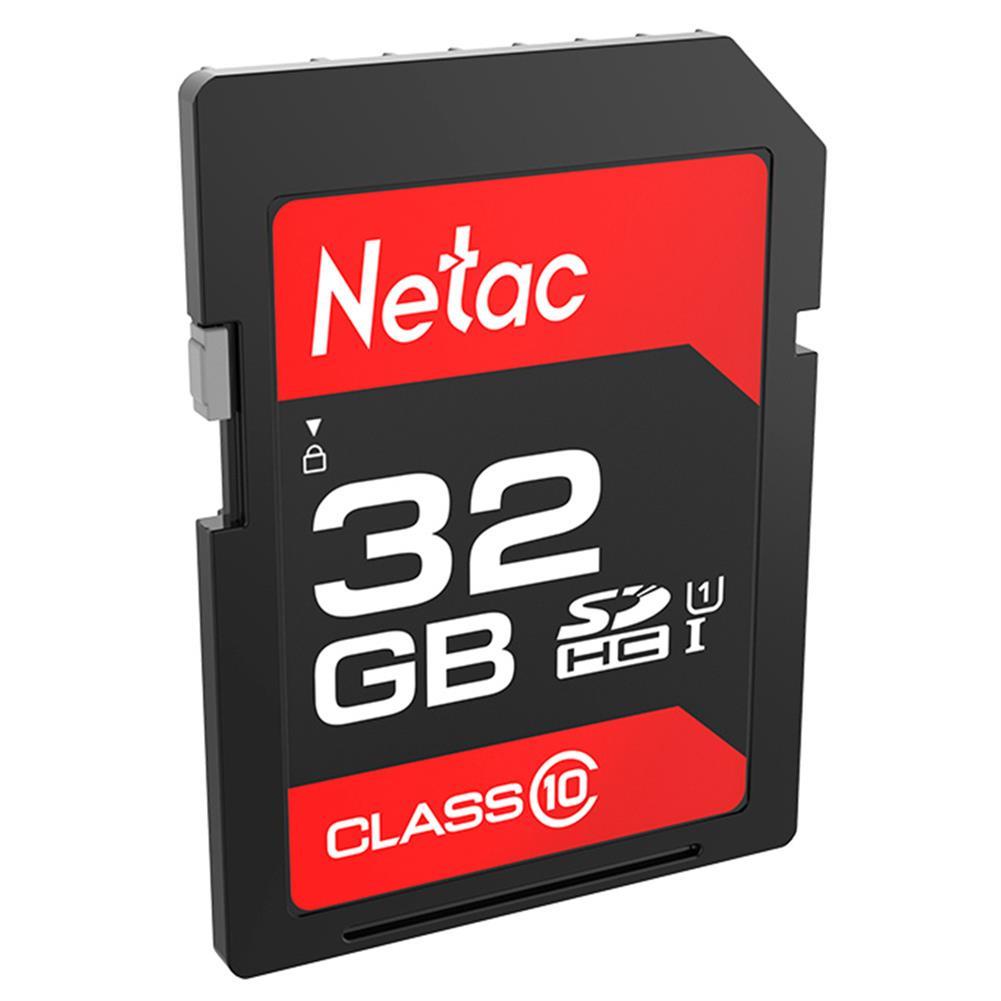 sd-card Netac P600 32GB SD Card UHS-I Class 10 SDHC Read Speed 80MB/s - Black Netac P600 32GB SD Card UHS I Class 10 SDHC Read Speed 80MB s Black 1
